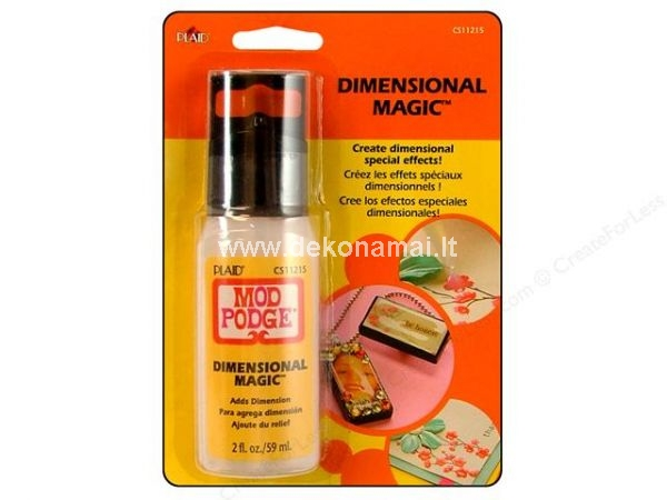 Modge podge Dimensional magic 59ml, skystas gelis